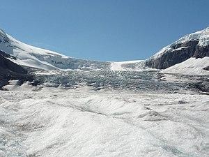アサバスカ氷河's relation image