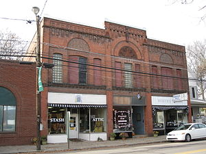 Athens, Pennsylvania - Downtown Athens