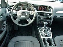 Audi A4 B8 Facelift Limousine Ambiente 1.8 TFSI multitronic Eissilber Interieur.JPG