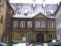 Augsburg Jakoberstraße 22 und 22 a Verwaltungsgebäude Fuggerei 02.JPG