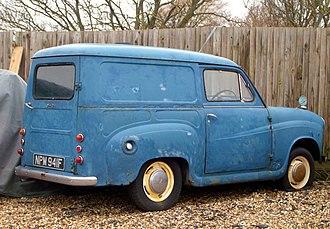 Panel van - Austin 35 panel van