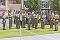 Australian Army Band Kapooka at the Kangaroo March commemoration ceremony.jpg