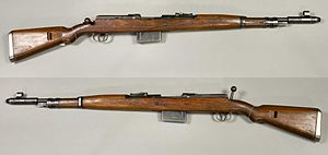 Gewehr 41 - Gewehr 41 (Mauser version) semi-automatic rifle