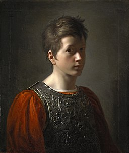 Autoportrait adolescent - BONNEFOND Claude