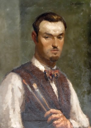 Giuseppe Amisani - Giuseppe Amisani, Self Portrait, 1900