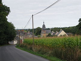 A general view of Availles-sur-Seiche