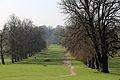 Avenue of trees at south of Wollaton Hall, Nottinghamshire, England 02.jpg