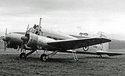 Avro 652A Anson C.19 VL351HCCS Yeadon 07.06.54 edited-2