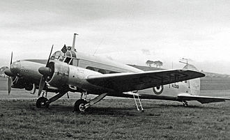 White Waltham Airfield - Avro Anson of the RAF's Home Command Communication Squadron based at White Waltham
