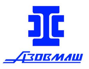 FC Mariupol - Logo of Azovmash, the owner of SC Novator in 1974-1992