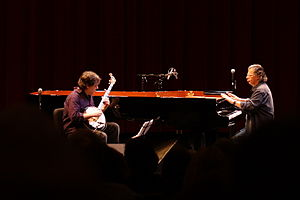 Chick Corea - Corea performs with Béla Fleck, March 1, 2008