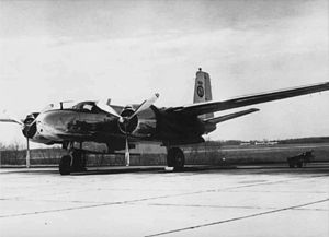 201st Airlift Squadron - A B-26, flown 1951 to 1972.