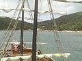 BALNEÁRIO CAMBORIÚ (passeio de Barco Pirata, com vista parcial da Praia de Laranjeiras), Santa Catarina, Brasil by Maria de Lourdes Dalcomuni (Ude) - panoramio (5).jpg