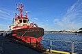 BB COASTER (tug boat, Brevik, 2008) at Stord Harbour in Leirvik, Norway. 2018-03-10 a.jpg