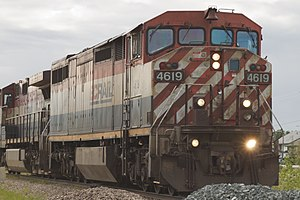 BC Rail - Image: BC Rail No. 4619