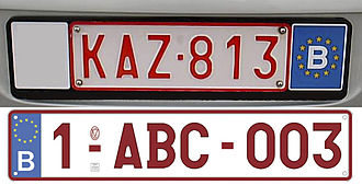 Automatic number-plate recognition - Must be able to recognize  international license plates as such.