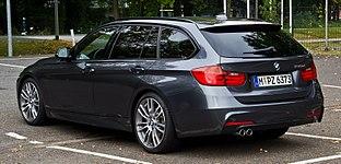 BMW 330d Touring M-Sportpaket (F31) %E2%80%93 Heckansicht, 5. Oktober 2013, M%C3%BCnster.jpg