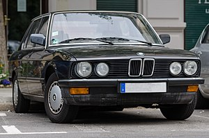 BMW E28 5 Series, Front View 20130615 1.jpg