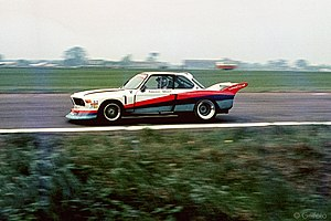 Gunnar Nilsson - Nilsson and Peterson sharing a BMW 3.5 CSL in the Silverstone 6 Hours