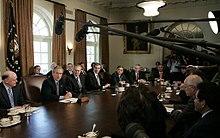 Bush WH held improper meetings