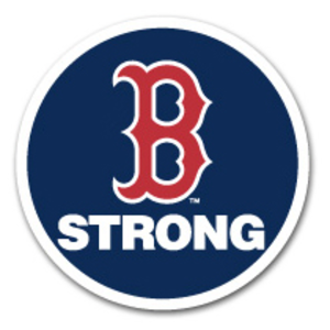 2013 Boston Red Sox season - Patch worn in memory of Boston Marathon Bombing Victims