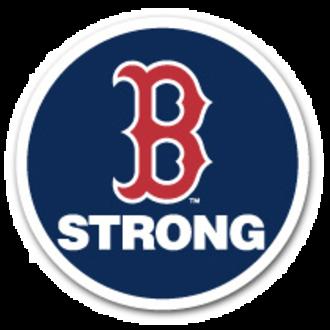 2013 Boston Red Sox season - Patch worn in memory of Boston Marathon Bombing Victims