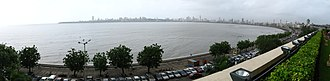 Back Bay (Mumbai) - Back Bay viewed from the south east