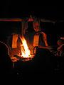 Backcountry Campfire at Janet Lake (5634578471).jpg