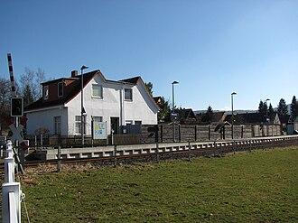Lamme Valley Railway - Wesseln halt (2011)