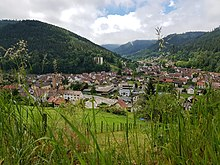 Ortsdoel Bad Wildbad - Calmbach