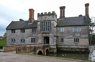 manor house in Warwickshire, England