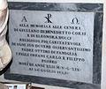 Badia fiesolana, int., lapide tombale giuliano corsi, 1822.JPG