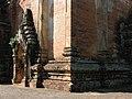 Bagan, Myanmar, Facade walls of Htilominlo Temple.jpg