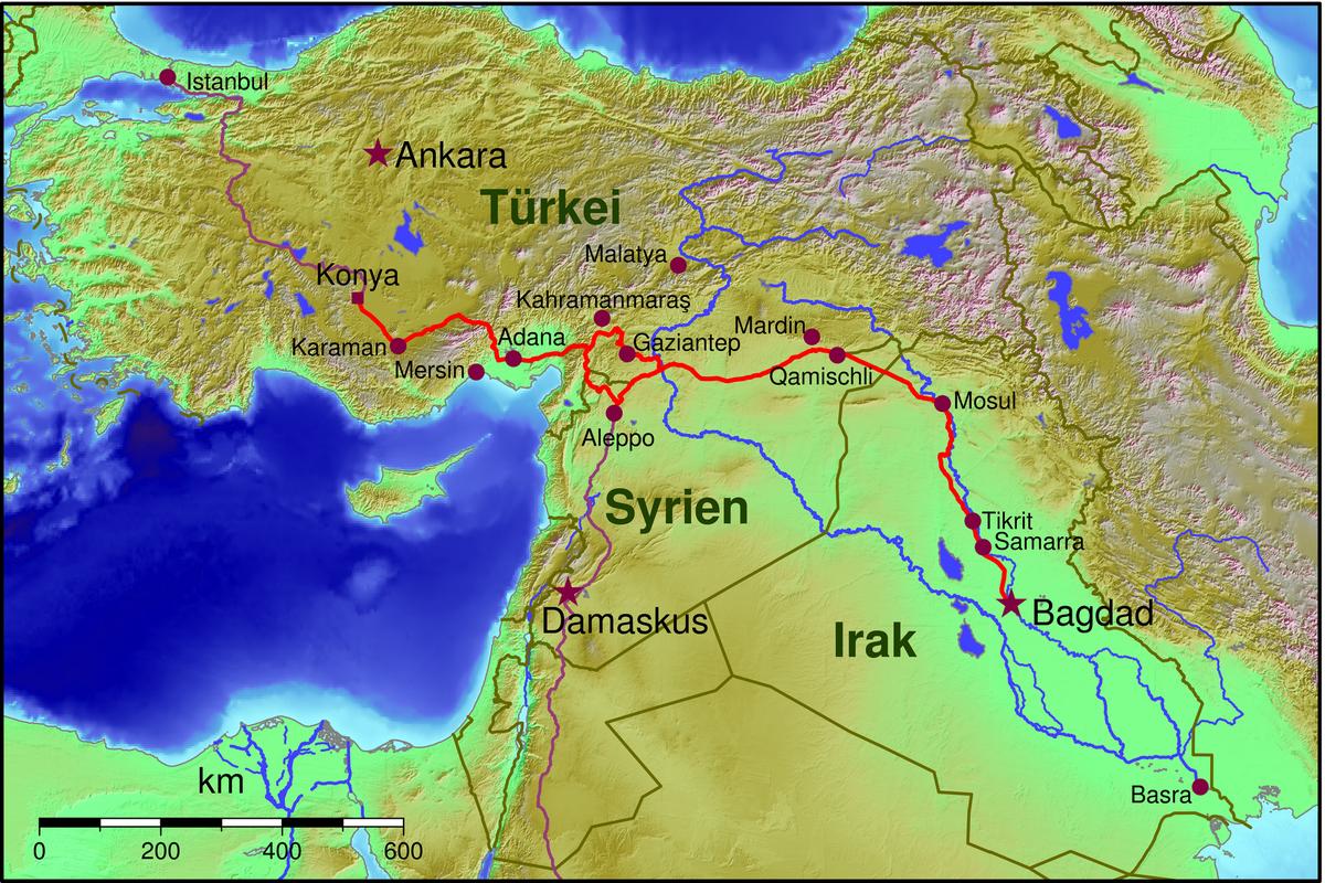 Ferrovia di Baghdad Wikipedia