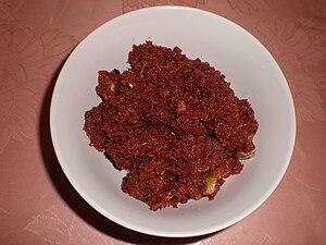 Fermented fish - Image: Bagoong 1