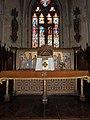 Baguer-Morvan (35) Église Saint-Pierre-et-Saint-Paul - Intérieur - Maître-autel 01.jpg