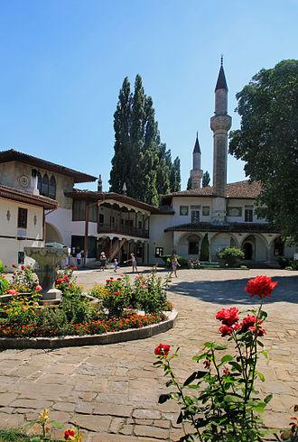Bakhchysarai - The Bakhchisaray Palace in Bakhchisaray