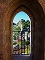 Balcó de la reina Himilce, castell de Xàtiva.JPG