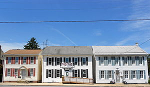 Dillsburg, Pennsylvania - Houses on Baltimore St.