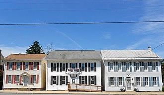 Dillsburg, Pennsylvania - Houses on Baltimore St.