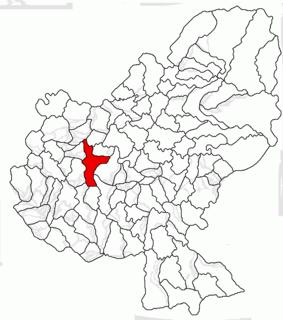 Band, Mureș Commune in Mureș County, Romania