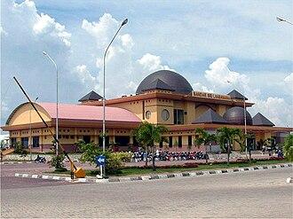 Bengkalis Regency - Bandar Sri Laksamana, the main port of Bengkalis
