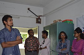 Bangla Wikipedia School Program at Agrabad Government Colony High School (Girls' Section) 82.JPG