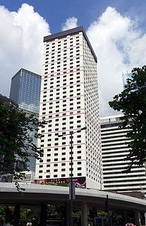 Bank of America Tower (Hong Kong) skyscraper in Hong Kong