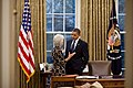 Barack Obama with Kathleen Sebelius.jpg