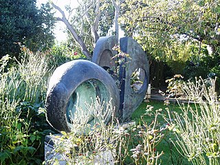 <i>Sphere with Inner Form</i> sculpture by Barbara Hepworth