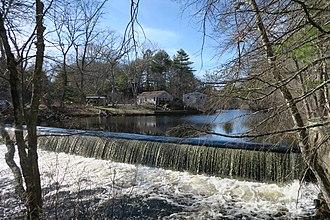 Barberville, Rhode Island - Barberville Dam
