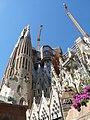 Barcelona, Sagrada Familia, construcción 2013.jpg