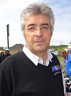 Marc Madiot Directeur sportif and former road bicycle racer
