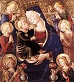 Bartolomeo Caporali - Virgin and Child with Angels - WGA4051.jpg